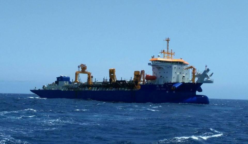 Es uno de los buques mayores de su clase del mundo