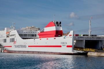 """El buque """"Forza"""" atiende cada día la línea Valencia-Palma"""