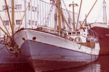 """El motovelero """"Rápido"""", en sus últimos años de mar"""