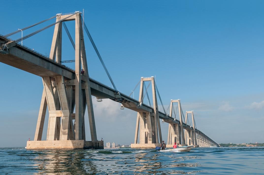Puente sobre el lago de Maracaibo, una obra de ingeniería civil extraordinaria