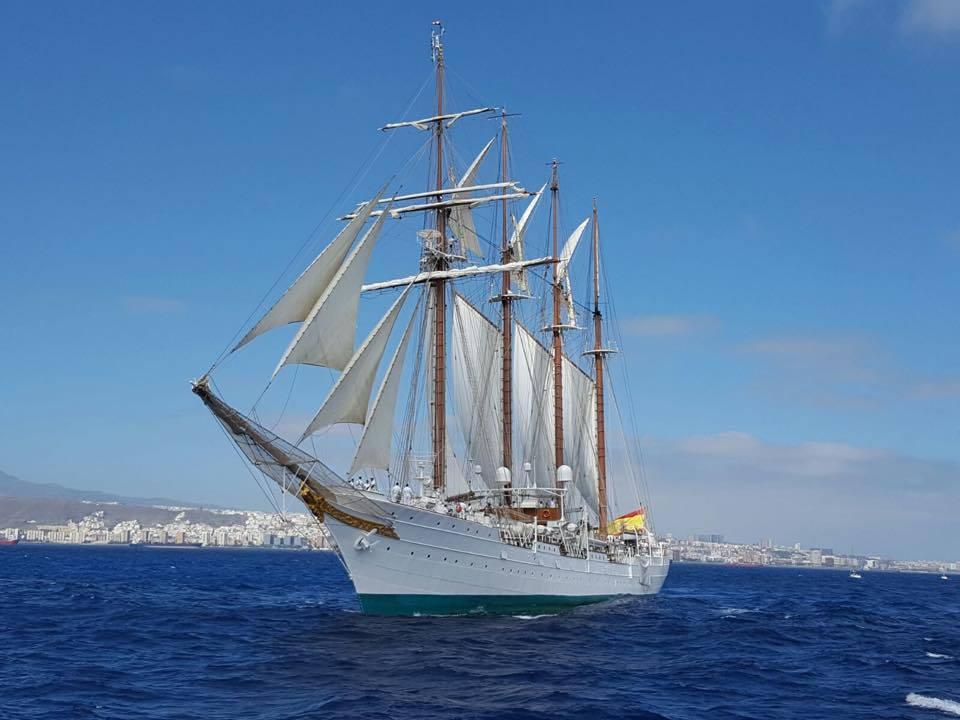 El buque-escuela realiza su 88º crucero de instrucción