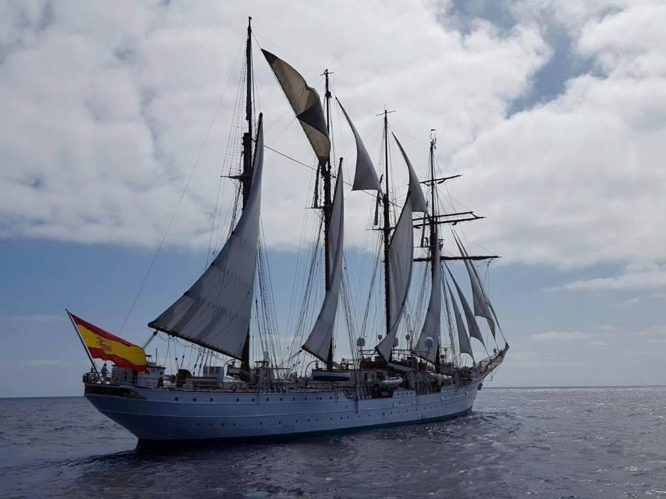 Durante tres meses navegará por aguas del Atlántico, entre Brasil y África