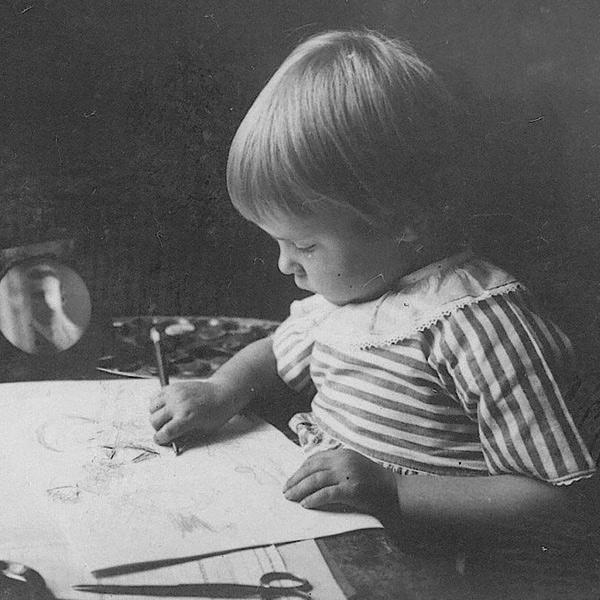 Tove Jansson vivió en un ambiente familiar propicio para la creatividad