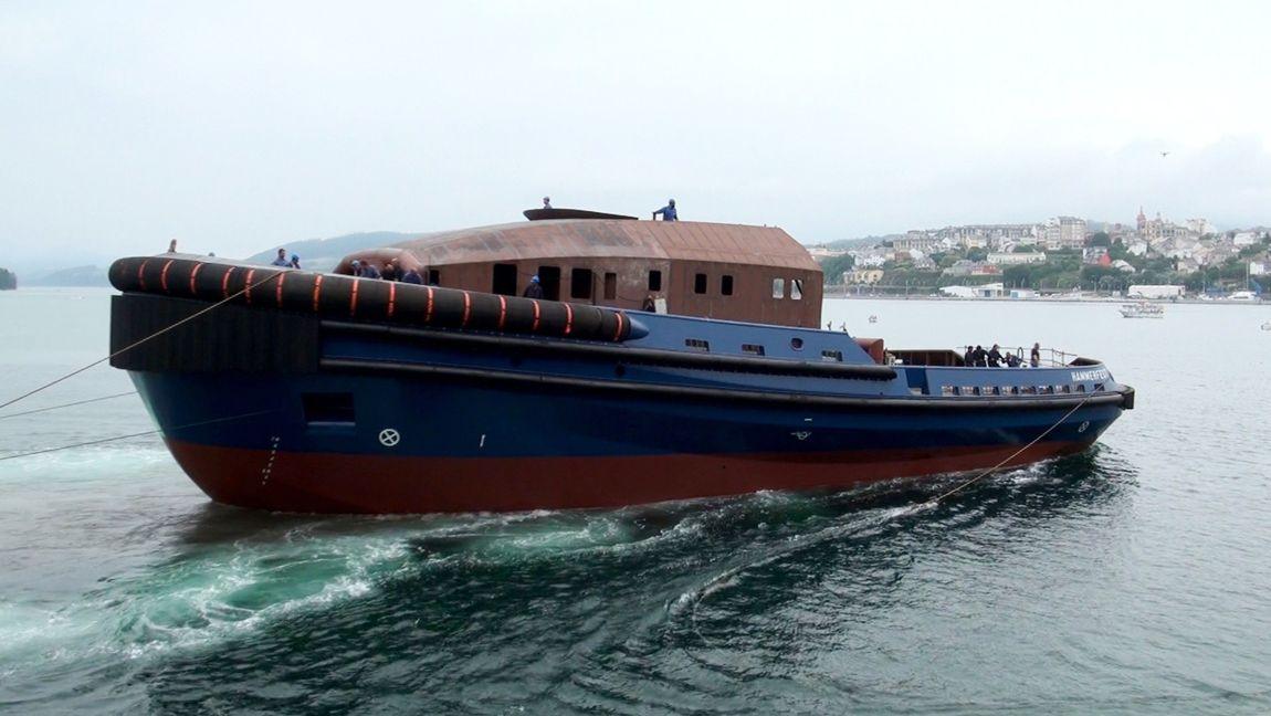 Es el segundo de una serie de tres remolcadores para el armador noruego Østensjø Rederi