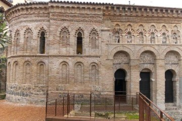 Lateral y ábside de la iglesia de Santo Cristo de la Luz