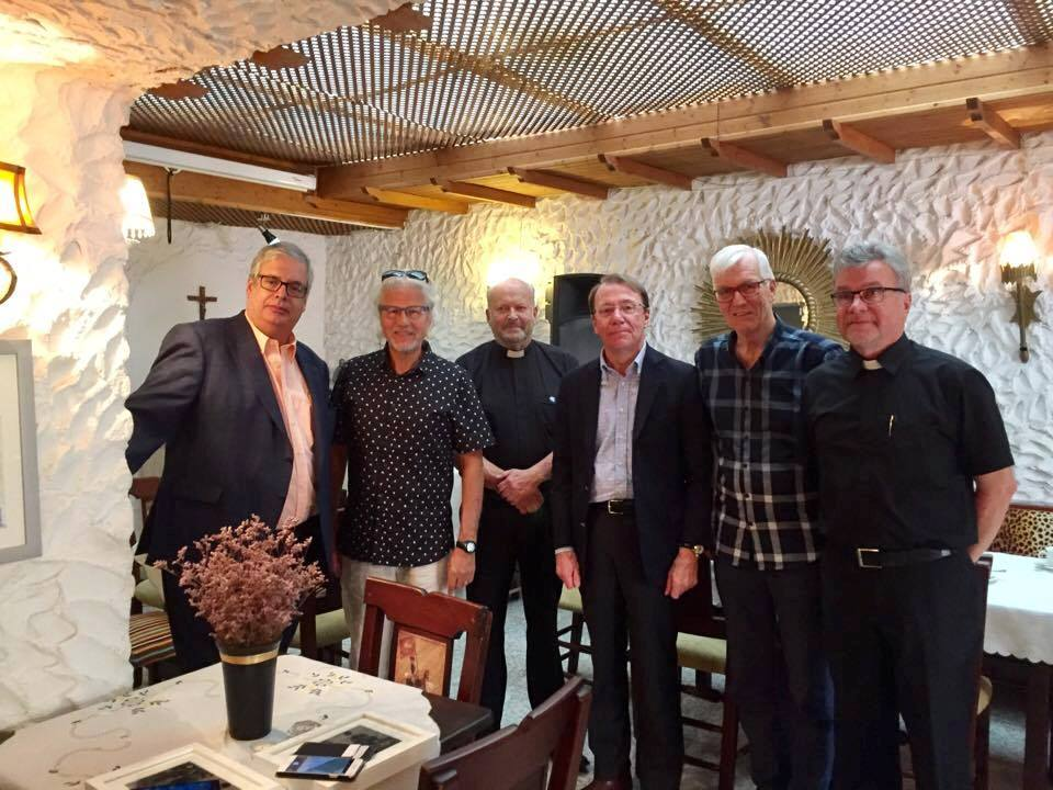 Reunión con los pastores de la Iglesia Luterana Finlandesa en Tenerife