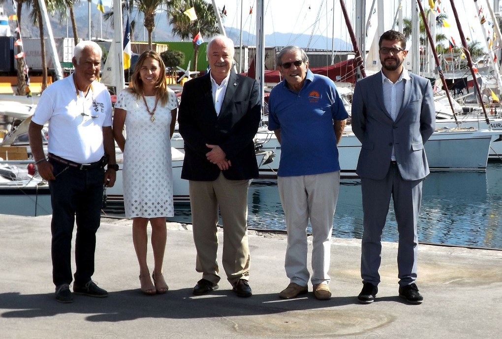 El acto de presentación de la regata se celebró en la Marina de Santa Cruz de Tenerife