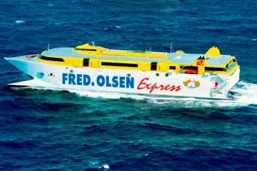 """El fast ferry """"Bencomo Express"""" será el primero en emplear gas natural licuado"""