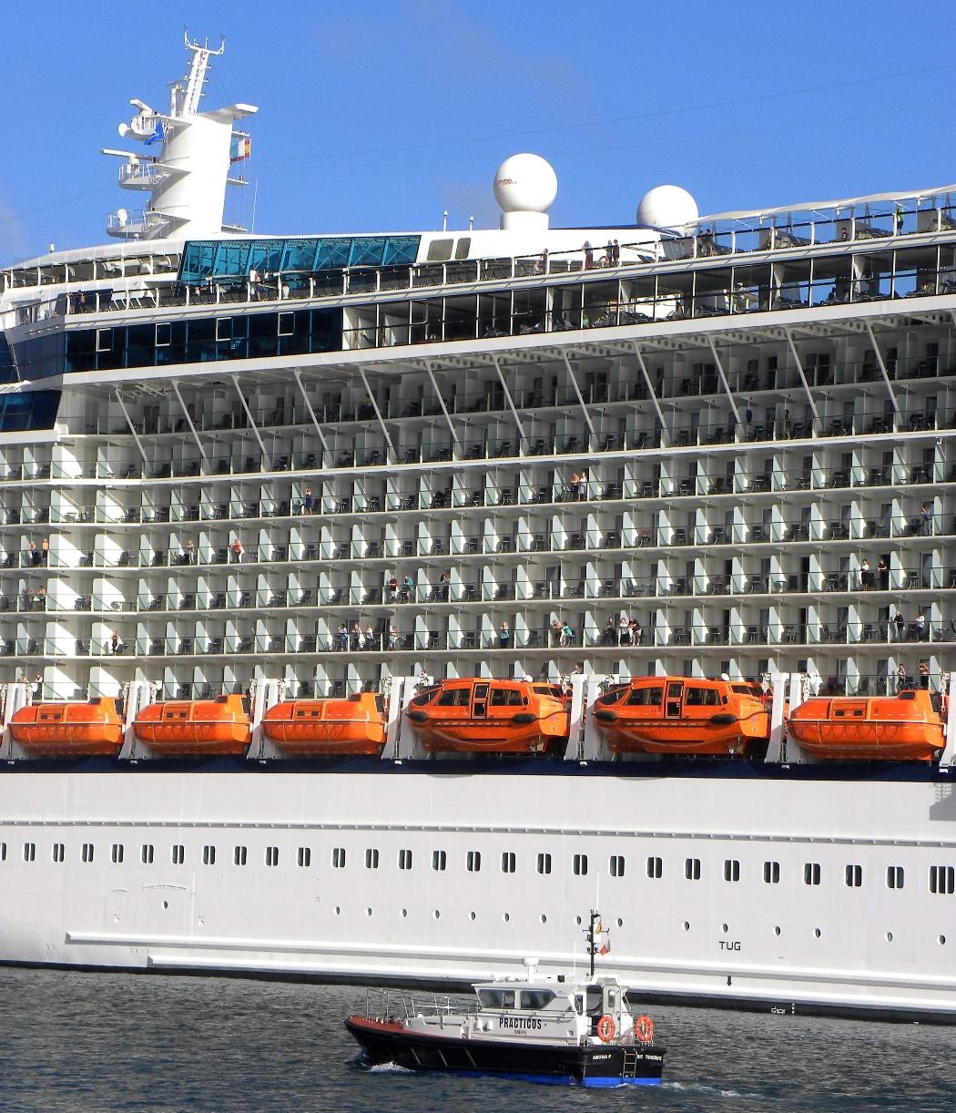 Los balcones al mar, un atractivo muy extendido en este tipo de buques
