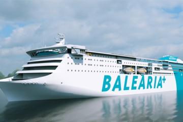 Este será el aspecto externo del futuro ferry dual de Balearia