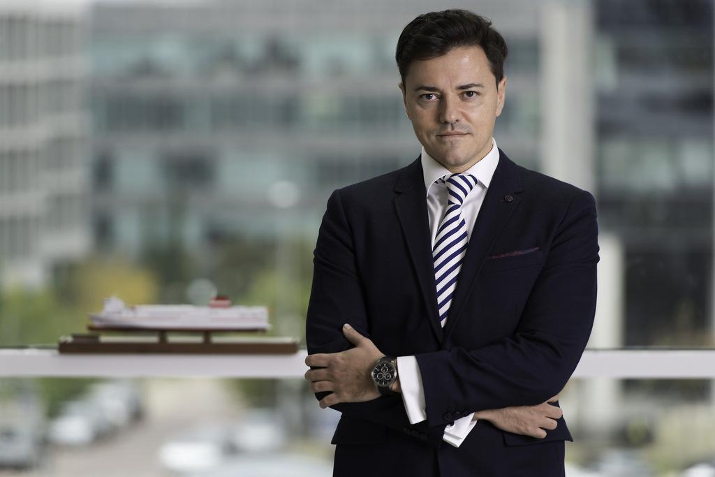 Mario Quero Gil, consejero delegado y director general de Trasmediterránea