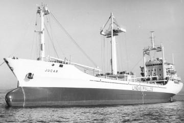 """El buque """"Júcar"""", recién entregado a Naviera Pinillos"""