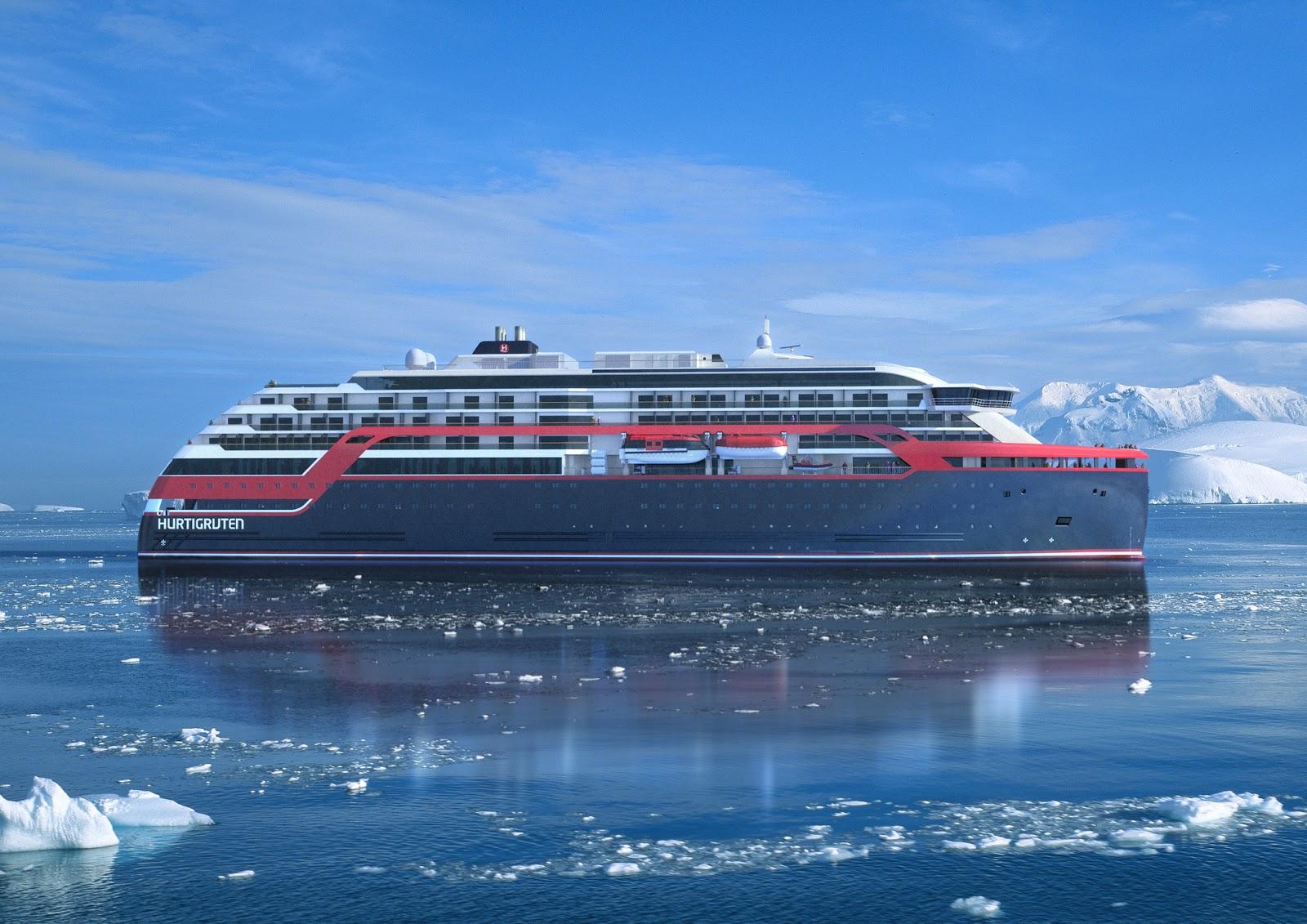 """Los futuros buques serán nombrados """"Roald Amudsen"""" y """"Fridrjof Nansen"""""""