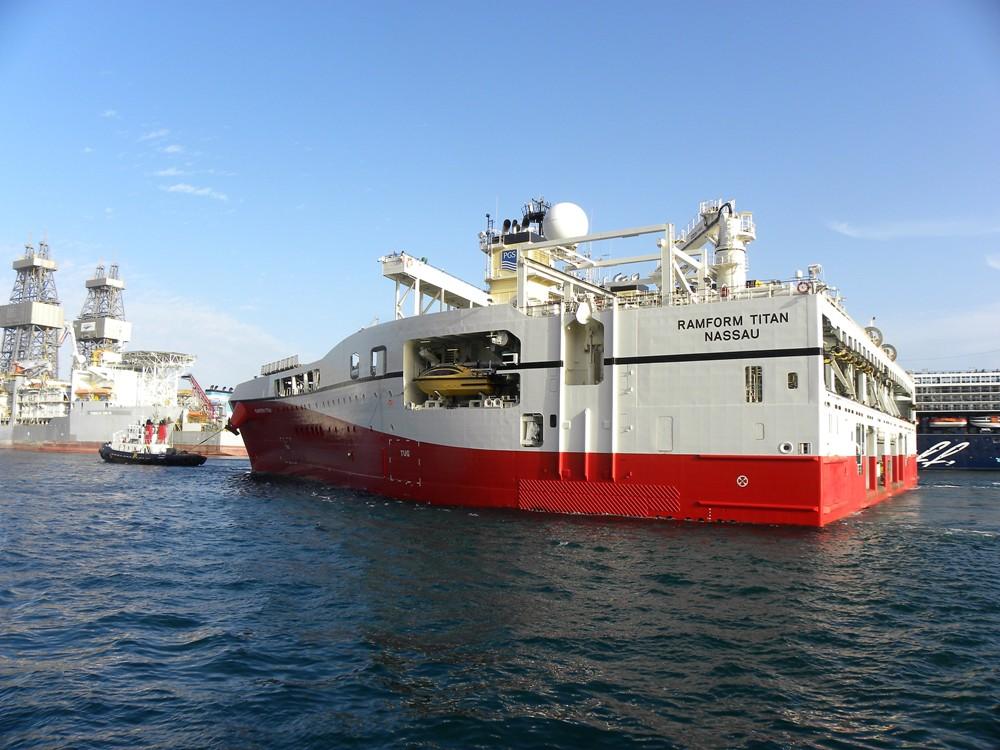 Ha sido la primera vez que un buque de este tipo ha estado en Tenerife