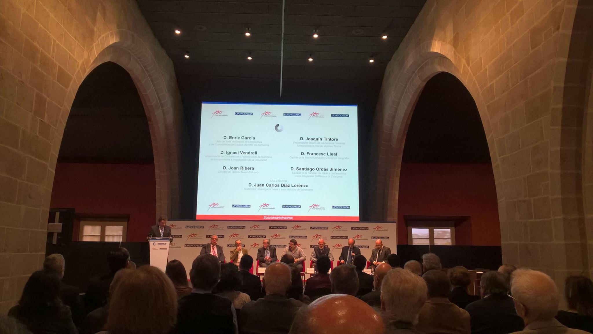 El encuentro se celebró en la sede de la Casa Llotja de Mar, en Barcelona