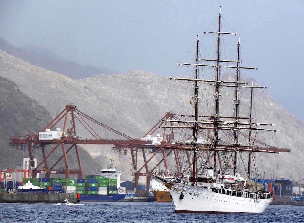 Es un buque elegante, conocido a nivel mundial