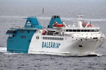 """El buque """"Passió per Formentera"""" cubre la línea Algeciras-Ceuta"""