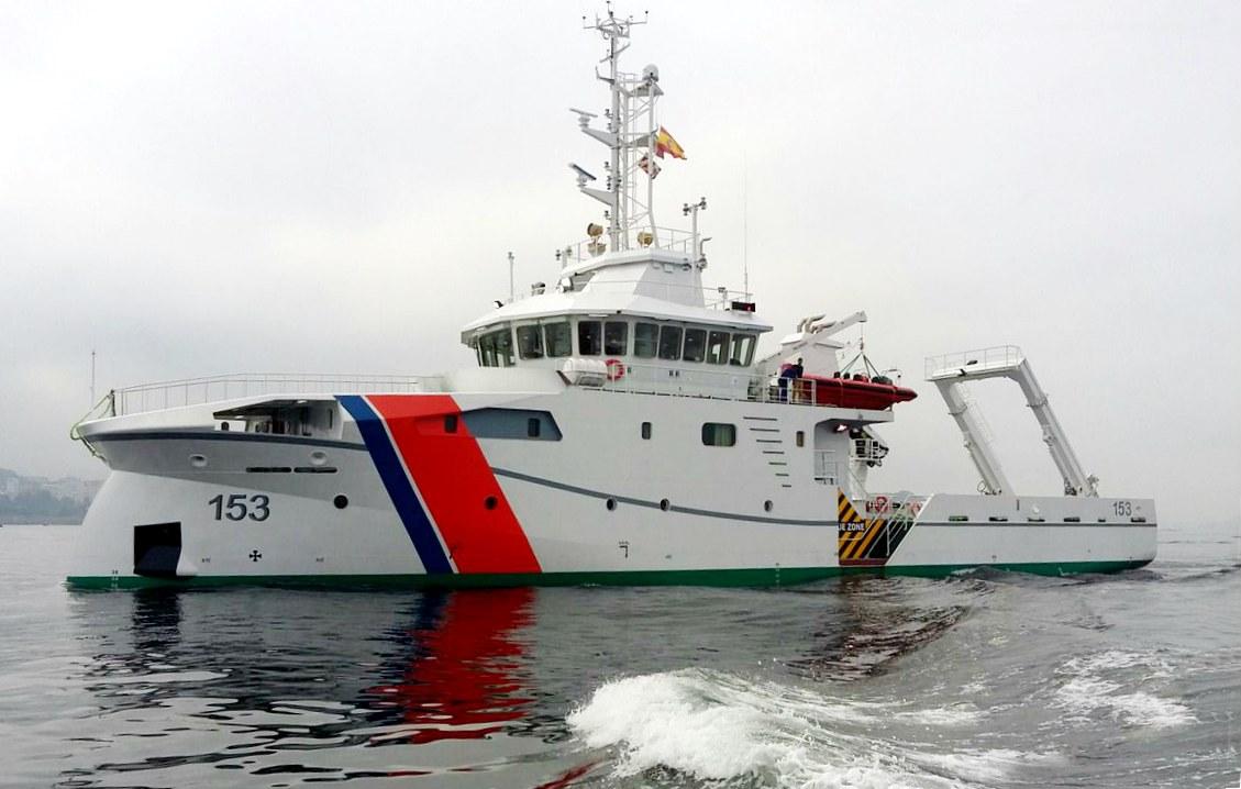 En su clase, es uno de los buques hidrográficos más modernos
