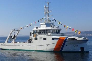 """El buque hidrográfico """"ARC Roncador"""" ha sido construido por Astilleros Armón, en Vigo"""