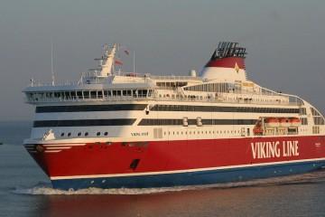 "Estampa marinera del buque ""Viking XPRS"""