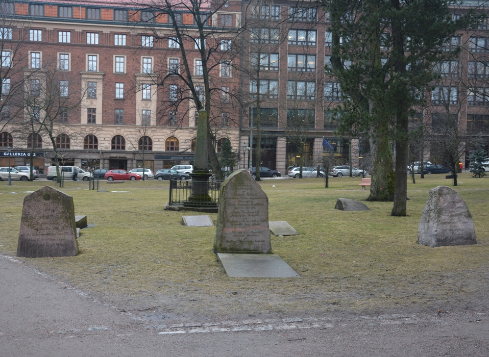 Existen 48 lápidas de enterramientos habidos entre 1790 y 1829