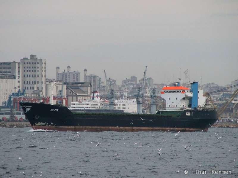 "Rebautizado ""Jiang"", navegando en aguas de Turquía"