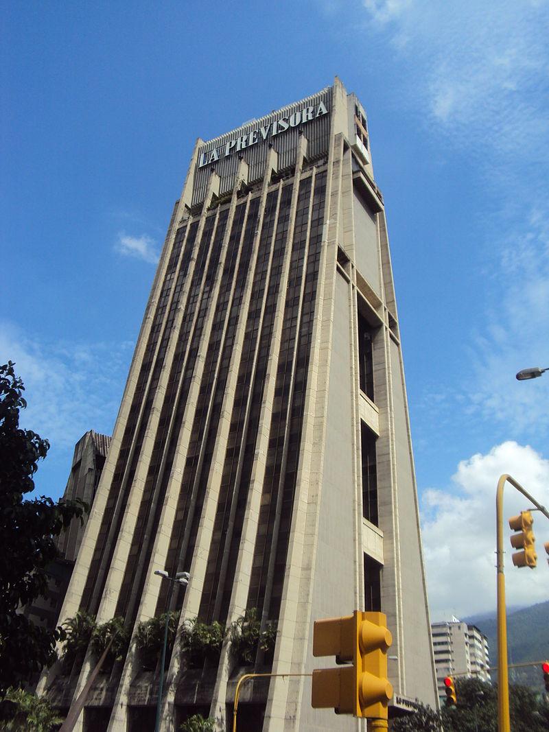 El edificio Torre La Previsora es un icono de la modernidad de Caracas