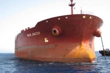 """El petrolero """"Max Jacob"""", cuando estuvo en Tenerife en 2007. Ahora ha vuelto a ser noticia por avería"""