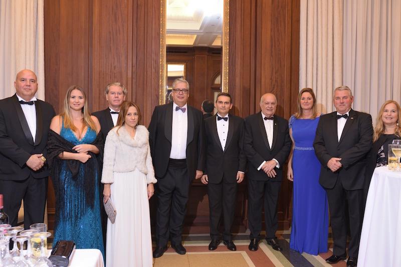 Cónsules de Alemania, Portugal, Finlandia, Honduras, Nicaragua y Países Bajos y acompañantes
