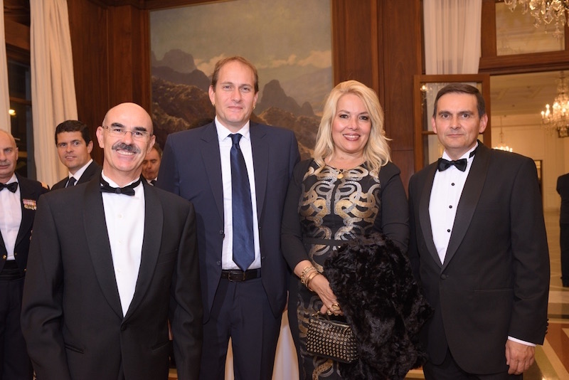 Cónsules de Eslovaquia, Colombia, Venezuela y Honduras