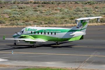Este avión fue el segundo de este modelo que tuvo Naysa (Binter) en su flota