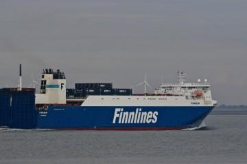 Finnlines, empresa controlada por Grimaldi, potencia el norte de España