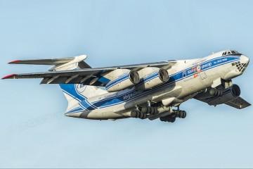 El avión es un desarrollo de Ilyushin para la Fuerza Aérea de la URSS