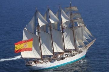 """El buque-escuela """"Juan Sebastián de Encano"""" llegará mañana en su sexta escala en La Palma"""