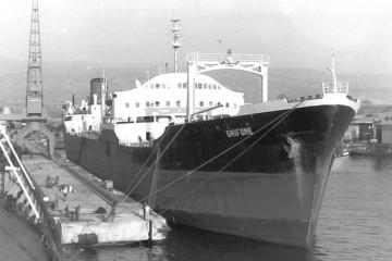 """En su última etapa el petrolero """"Puertollano"""" navegó con el nombre de """"Grifone"""""""