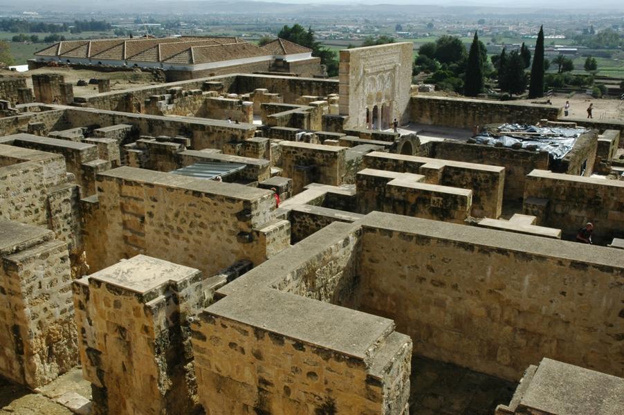 Madinât al Zahrâ. Vista parcial de la ciudad