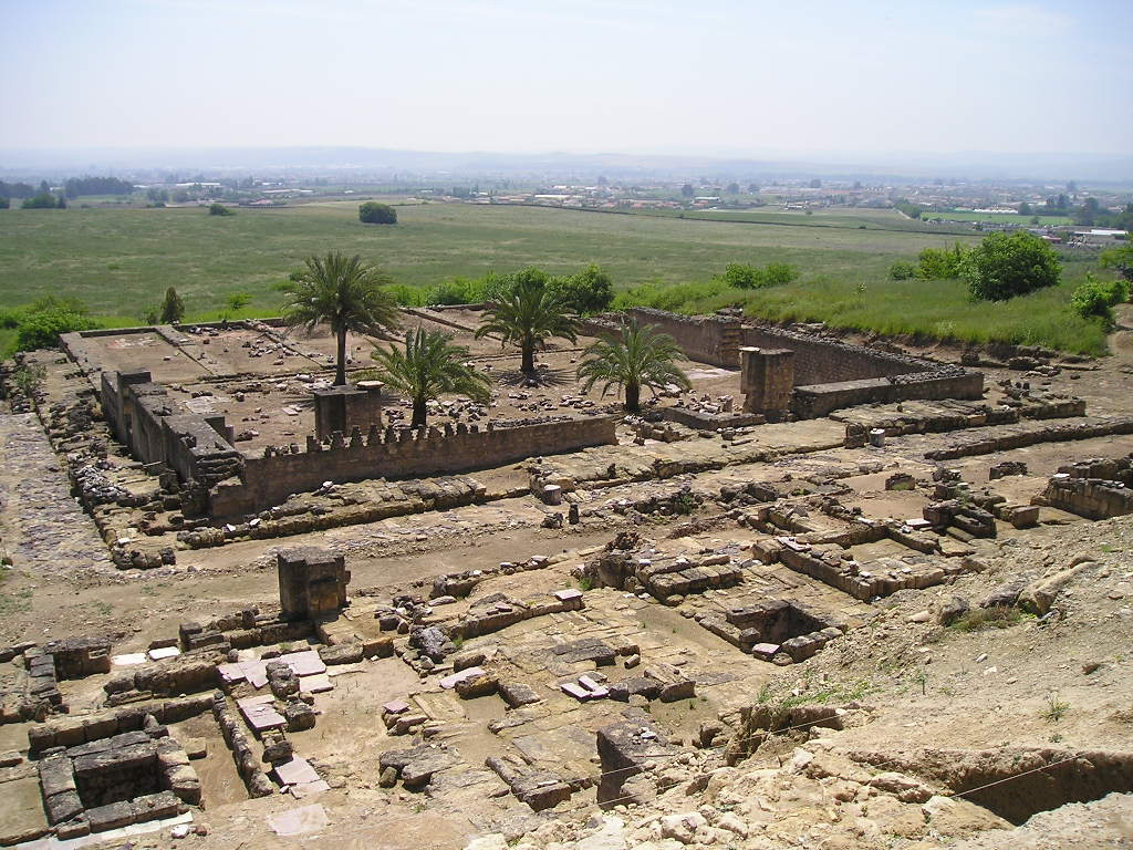 Madinât al Zahrâ. Restos arqueológicos de la mezquita