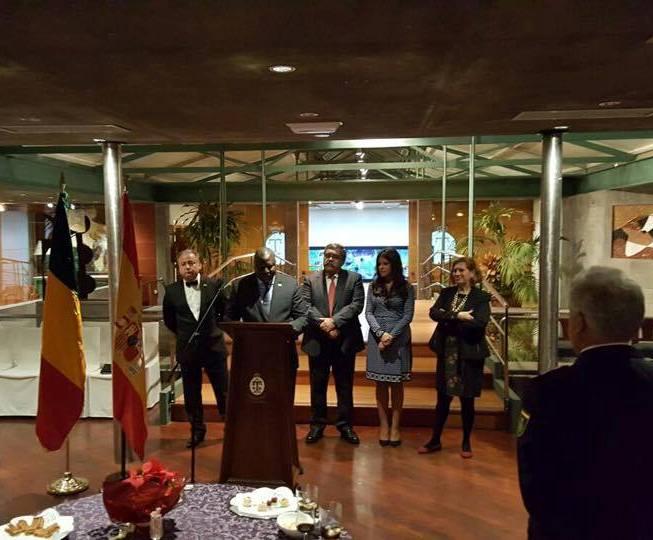 El embajador de Mali en España, Abdoulaye Koumare, presidió la presentación oficial