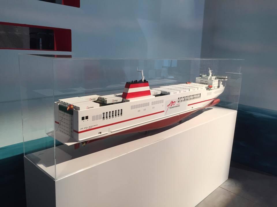 """Maqueta del buque """"José María Entrecanales"""""""