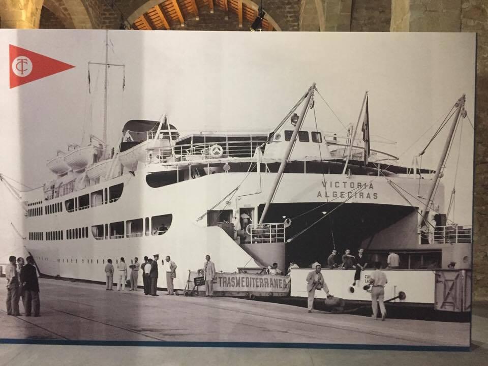 """Foto dedicada al ferry """"Victoria"""", primero de su clase construido en España"""