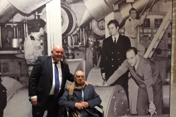 Laureano García Fuentes y Manuel Pujol Casal se reencuentran 50 años después