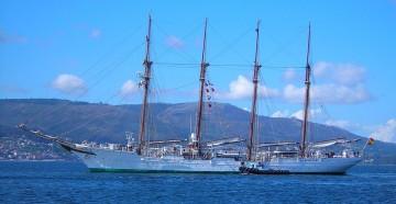 """El buque-escuela """"Juan Sebastián de Elcano"""" estará del 18 al 22 de marzo en Santa Cruz de Tenerife"""