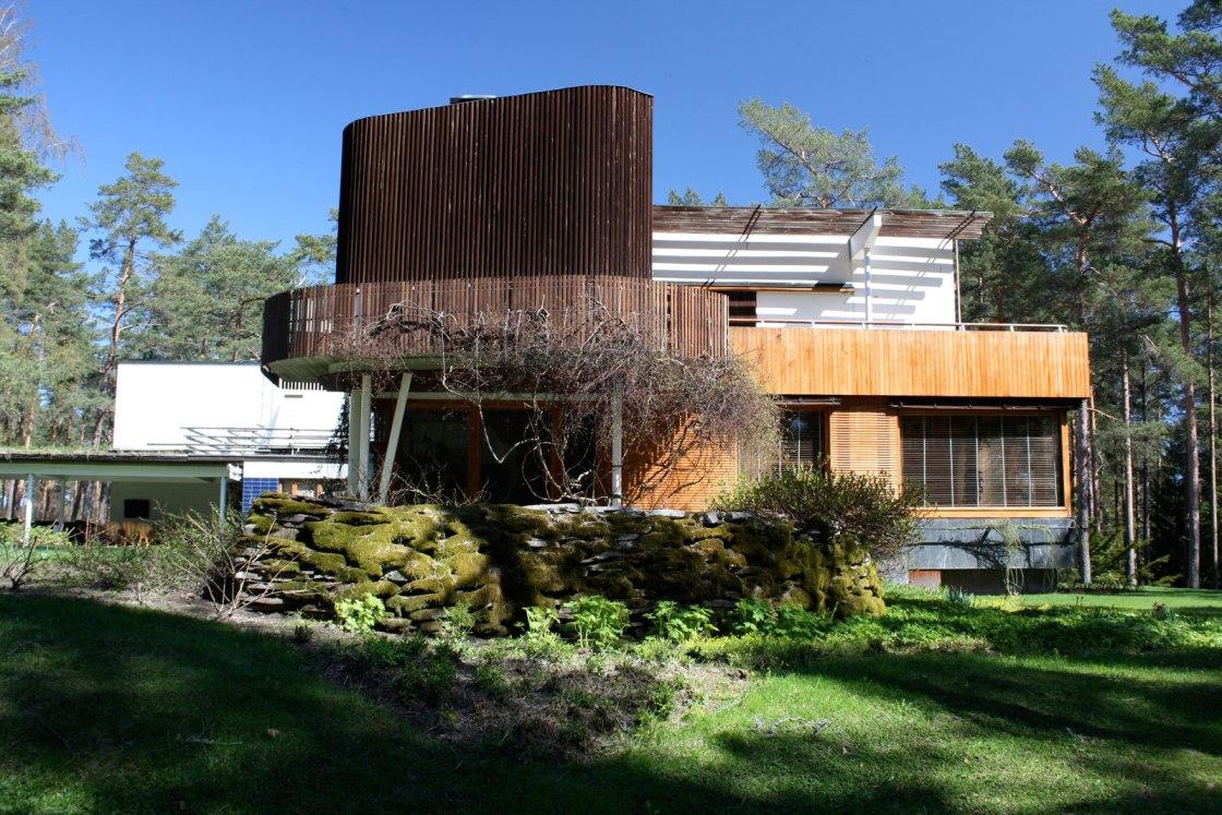 Alvar Aalto. Exterior de Villa Mairea