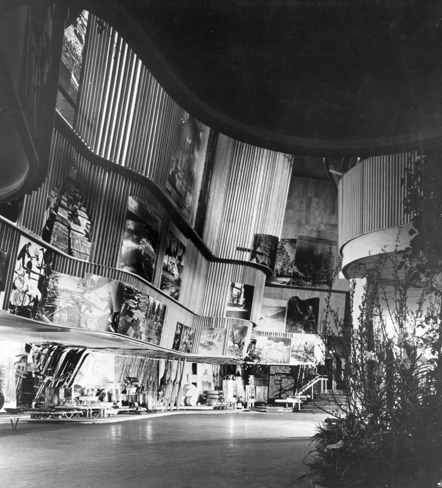 Pabellón de Finlandia para la Exposición de 1939 en Nueva York