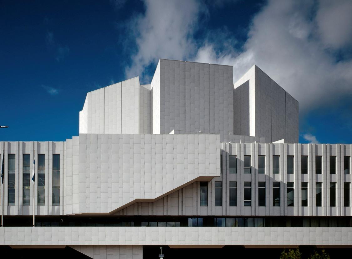 Alvar Aalto. Palacio de Congresos