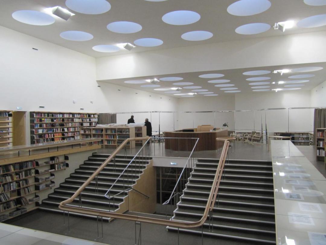 Alvar Aalto. Biblioteca de Viipuri (hoy en Rusia)
