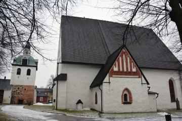 La catedral en piedra data del siglo XV, pero sus orígenes son del siglo XIII