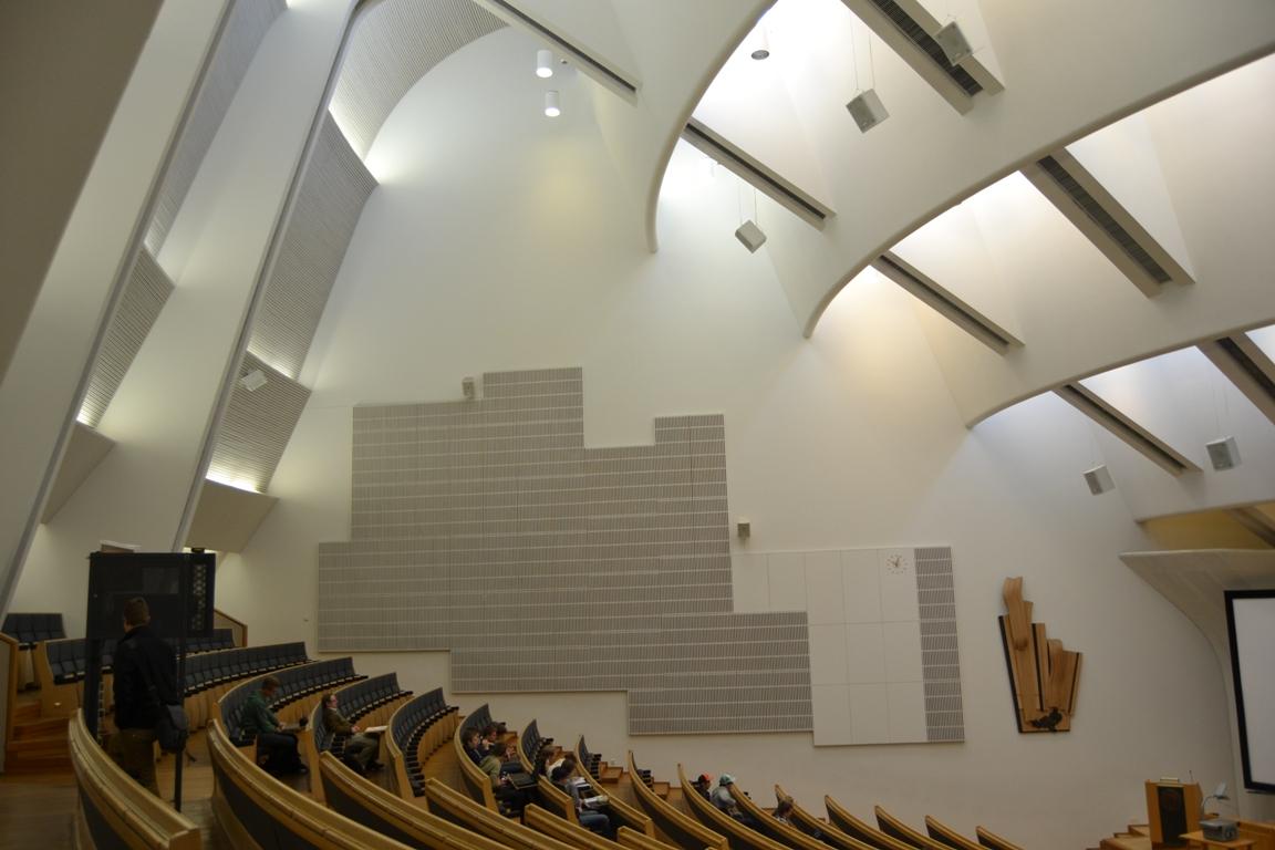 Alvar Aalto. Auditorio de la Universidad de Otaniemi