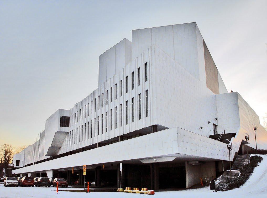 Alvar Aalto. Palacio de Congresos de Finlandia
