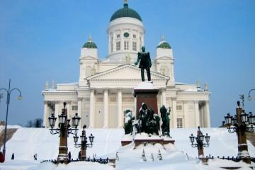 La catedral luterana de Helsinki, uno de los iconos arquitectónicos de Finlandia